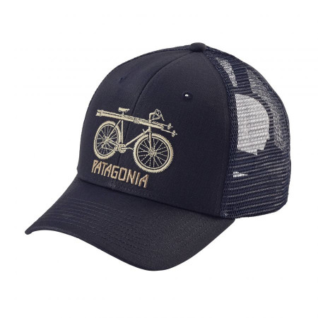 Snow Cycle Trucker Hat alternate img #1