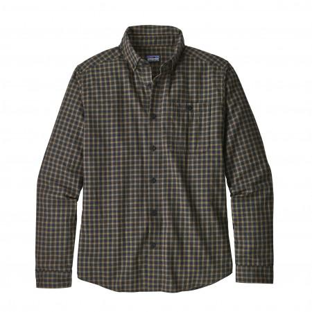 Vjosa River Pima Shirt LS Ms alternate img #1