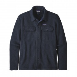 See M's Better Sweater Shirt Jkt in New Navy