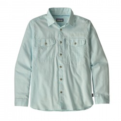 See Cayo Largo II Shirt M L/S in Chambray: Break Up Blue