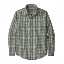 See M's L/S Pima Cotton Shirt in Palmdale: Feather Grey