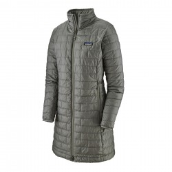 See W's Nano Puff Parka in Feather Grey