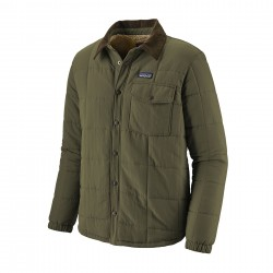 See M's Isthmus Quilted Shirt Jkt in Industrial Green