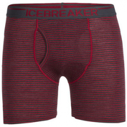 See Anatomica Boxer with Fly in Oxblood