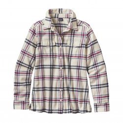 See Fjord Flannel Shirt Ws in Windrow Violet