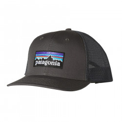 See P-6 Logo Trucker Hat in Forge Grey