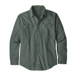 See Pima Cotton Shirt LS Men in SKLB Navy Blue