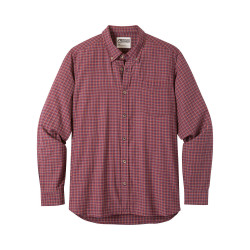See Spalding Gingham Shirt M in Raisin