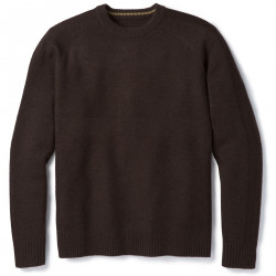 See Ripple Ridge Crew Sweater M in Sumatra Heather