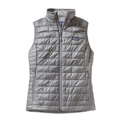 See W's Nano Puff Vest in Feather Grey