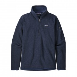 See W's Better Sweater 1/4 Zip in New Navy