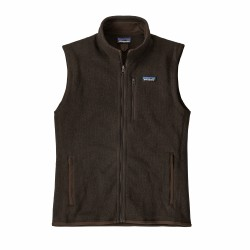 See M's Better Sweater Vest in Logwood Brown