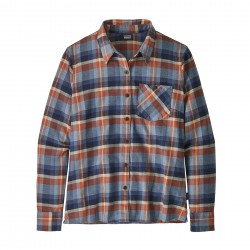 See W's Heywood Flannel Shirt in Basket: New Navy