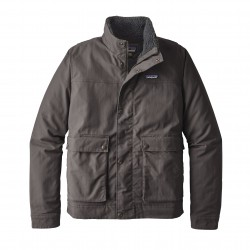 See M's Maple Grove Canvas Jkt in Forge Grey
