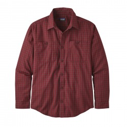 See M's L/S Pima Cotton Shirt in Prime: Molten Lava