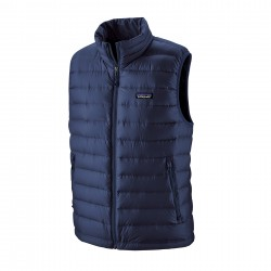 See M's Down Sweater Vest in Classic Navy w/Classic Navy