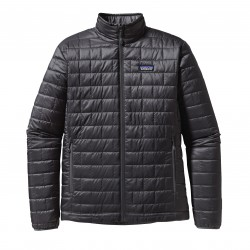 See M's Nano Puff Jkt in Black