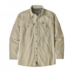 See Sol Patrol II Shirt Mn in Pelican