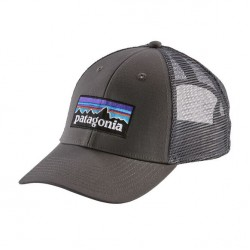 See P-6 Logo LoPro Trucker Hat in Forge Grey w/Forge Grey
