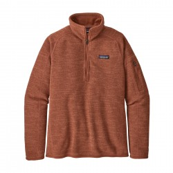 See W's Better Sweater 1/4 Zip in Century Pink