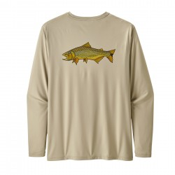 See Cap Cool Daily Fish Graphic Shirt Mn in Golden Dorado: Pelican