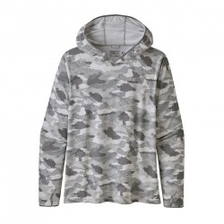 See Tropic Comfort Hoody II Mn in Myrtle Bark Camo: Birch White