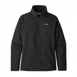 See W's Better Sweater 1/4 Zip in Black