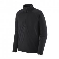 See M's Cap MW Zip Neck in Black