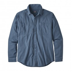 See M's L/S Pima Cotton Shirt in Prime: Woolly Blue
