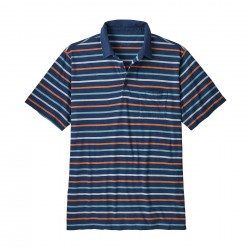 See Squeaky Clean Polo Mn in Terrain Multi: Stone Blue