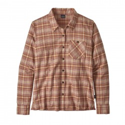 See W's Heywood Flannel Shirt in Sprout: Century Pink
