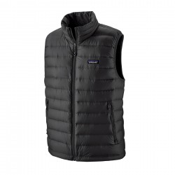 See M's Down Sweater Vest in Black