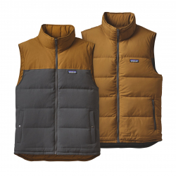 See Bivy Down Vest Reversible M in Forge BearBrown