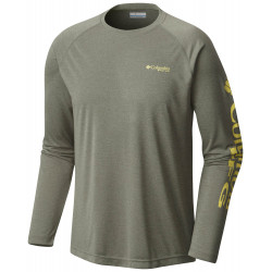 See Terminal Tackle Heather LS Ms in Cypress Heather