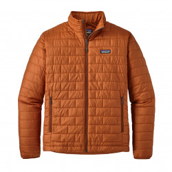 See Nano Puff Jacket M in CPOR Orange