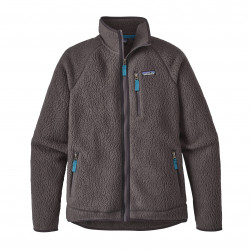 See Retro Pile Jkt Ms in Forge Grey