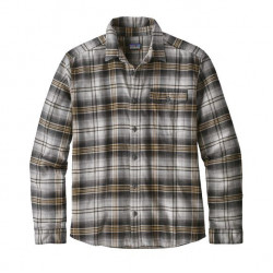 See Fjord Flannel Shirt LW Ms in BOBL Black