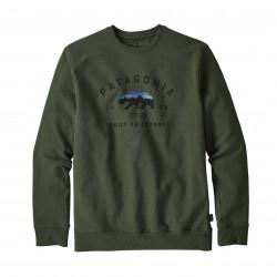 Arched Fitz Roy Bear Crew Sweatshirt Image