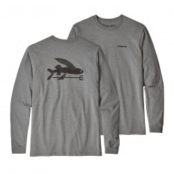 See Flying Fish ResponsibiliTee LS in GLH Grey