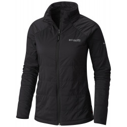 See Alpine Traverse Jacket W in Shark Black Hea