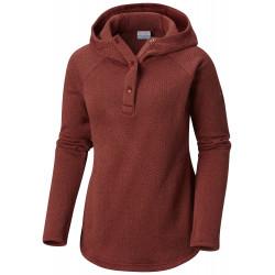 See Darling Days II Pullover Hood W in Garnet Red