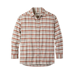 See Peden Flannel Shirt M in Cream Plaid