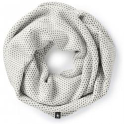 See Diamond Cascade Infinity Scarf in Winter White Do