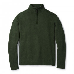 See Sparwood Half Zip Sweater M in Scarab Heat