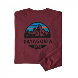 See M's L/S Fitz Roy Scope Responsibili-Tee in Oxide Red