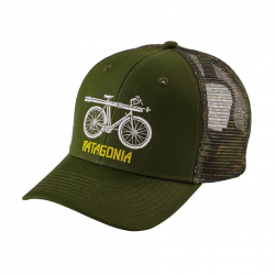 Snow Cycle Trucker Hat Image