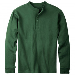 See Trapper Henley Shirt Ms in Hunter Green
