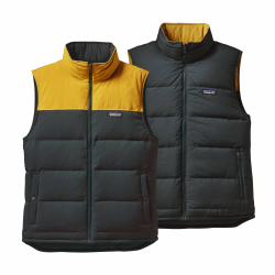 See Bivy Down Vest Reversible M in Carbon