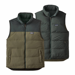 See Bivy Down Vest Reversible M in IndustrialGreen