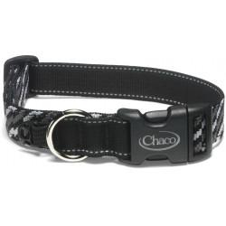 See Dog Collar in Static Black